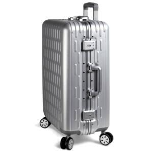 Discovery Aluminium Vázas Nagy bőrönd 75cm