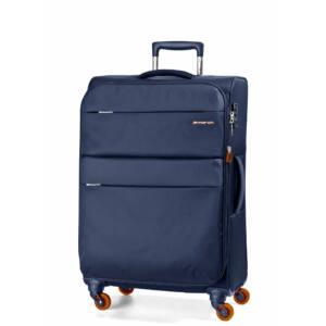 Elle Bővíthető Könnyű Bőrönd Közepes Kék