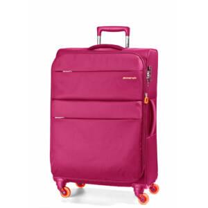 Elle Bővíthető Könnyű Bőrönd Közepes Pink