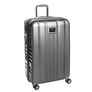 Fly Nagy bőrönd silver brushed