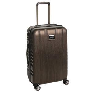 Fly Közepes bőrönd bronze brushed