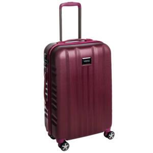 Fly Közepes bőrönd burgundy brushed