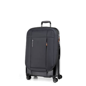 Phaeton Hybrid Kabin bőrönd fekete