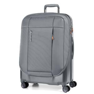 Phaeton Hybrid nagy bőrönd szürke