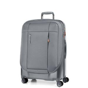 Phaeton Hybrid közepes bőrönd szürke