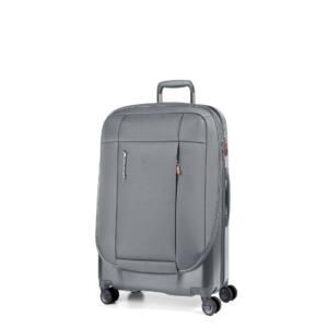 Phaeton Hybrid Kabin bőrönd szürke