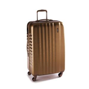 Ribbon Nagy bőrönd gold brushed