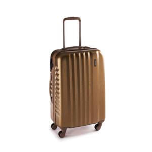 Ribbon Közepes bőrönd gold brushed