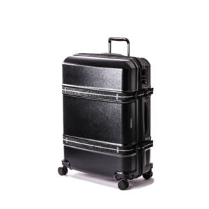 Trunk bőrönd fekete nagy