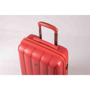 Aspen Nagy Bőrönd Piros