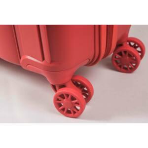 Aspen Közepes Bőrönd Piros