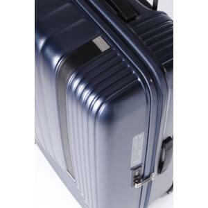 Bőrbetétes bőrönd