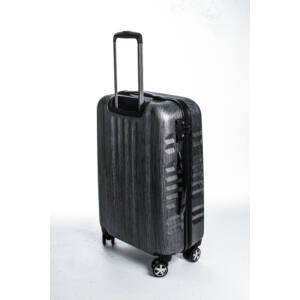 Fly Kabin bőrönd black brushed
