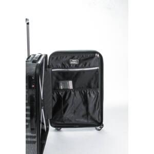 Fly Szett bőrönd black brushed