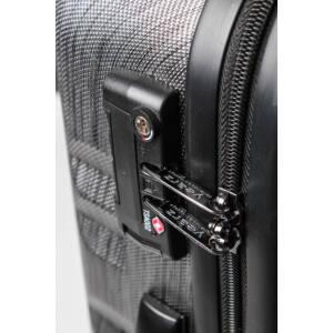 Fly Nagy bőrönd black brushed