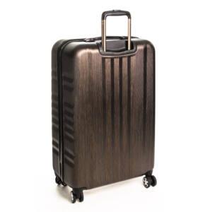 Nagy bronze bőrönd