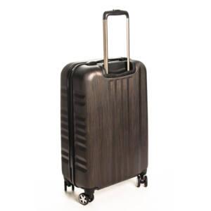 Közepes bronze bőrönd
