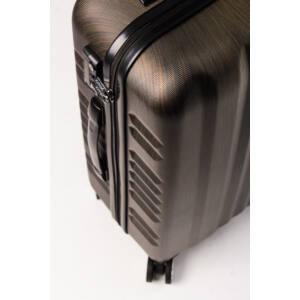 oldalsó design bronze bőrönd