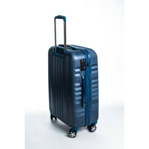 Fly Közepes kék bőrönd