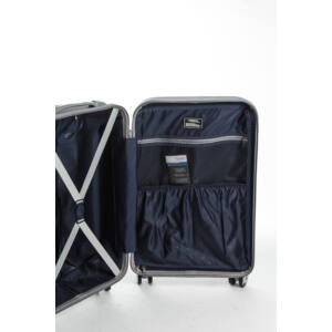 Közepes Bőrönd Belső
