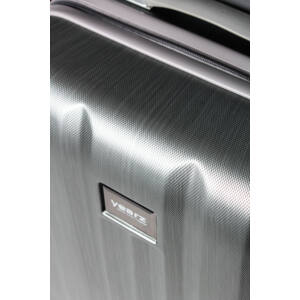 silver brushed fly bőrönd