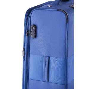 Focus Közepes bőrönd kék