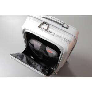Gotthard Törhetetlen Kabin Bőrönd Silver (Laptoptartós)