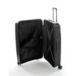 Gotthard Torhetetlen Közepes Bőrönd Fekete