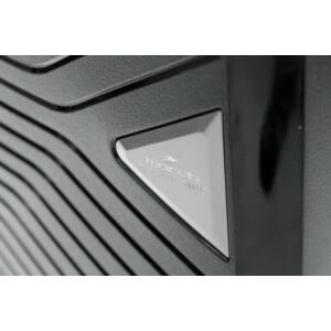 Gotthard Törhetetlen Kabin Bőrönd Fekete (Laptoptartós)
