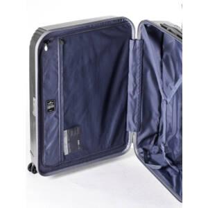 New Manhattan Nagy Bőrönd  Ezüst