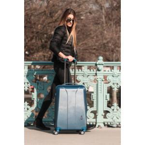 New Carat Kék Bőrönd