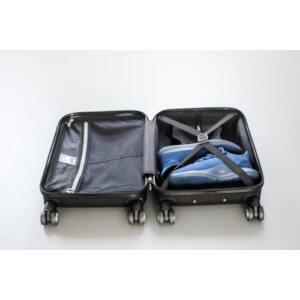 New Carat Kabin bőrönd burgundy brushed