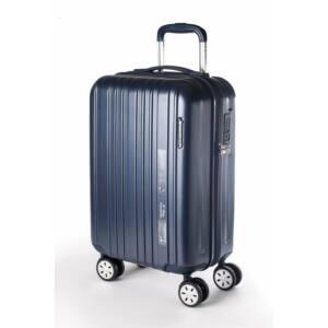 omega sötétkék bőrönd