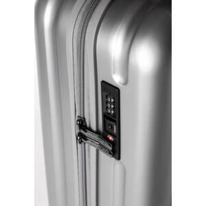 Omega Nagy Bőrönd Ezüst