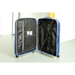 Rocky Kabin bőrönd grey indigo