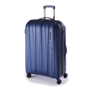 Rocky Szett bőrönd Dark Lake Silver