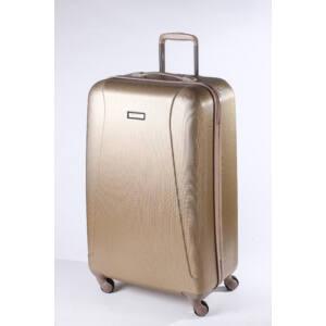 Traffic Nagy bőrönd gold brushed
