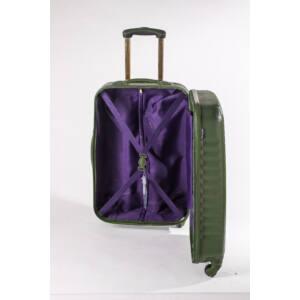 Ribbon Közepes bőrönd garden green