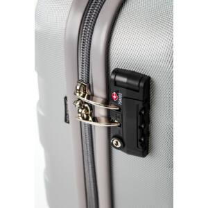 Bumper Nagy bőrönd silver