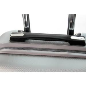Bumper Közepes bőrönd silver