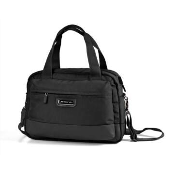Stowaway, fekete kézifogós, laptoptartós táska