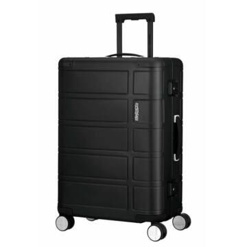 American Tourister Alumo Közepes Bőrönd Fekete