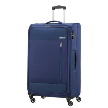 American Tourister Heat Wave Nagy Bőrönd Kék
