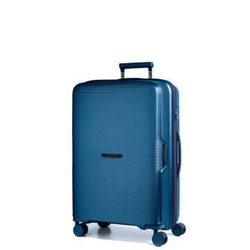 Bel Air Törhetetlen Kabin Bőrönd Kék (vízhatlan zip)