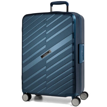 Bon Voyage Nagy bőrönd kék