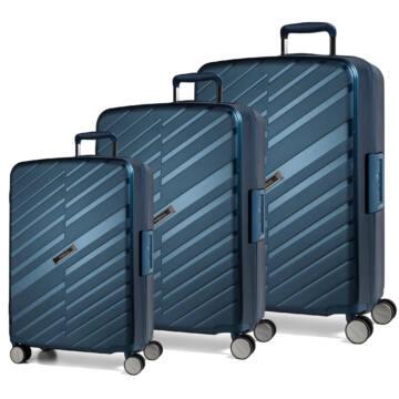 Bon Voyage Szett bőrönd kék