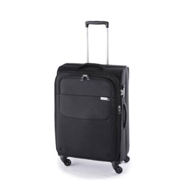 Carter Spec E. Közepes bőrönd fekete