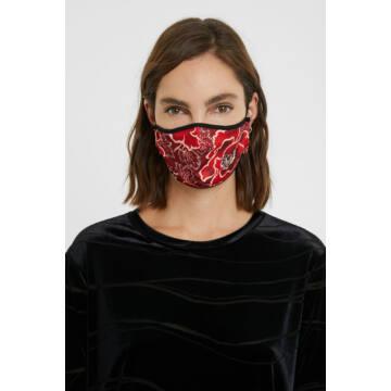 Desigual Japan Flower Riversable Face Mask
