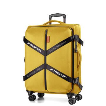 Exploration Vászon Bőrönd Közepes Aranysárga