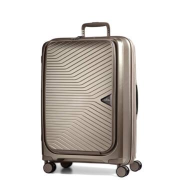 Gotthard előzsebes bőrönd bronze
